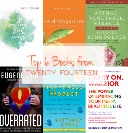 Top 6 Books from 2014 #reading #resources #books #nonfiction www.naomiliz.com