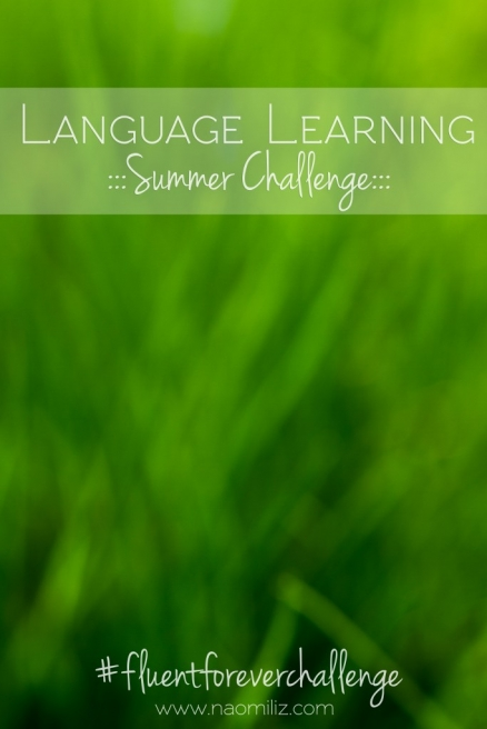 Ready to see how much #language I can learn with the #fluentforeverchallenge this summer @Naomilizblog @Fluent_Forever #languagelearning #languagenerd #polyglot
